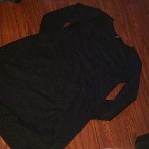 Sexy bodycon black dress